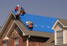 Roof Repair From Storm Damage in Grand Rapids Michigan