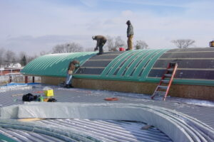 Metal Roof Recovering in Grand Rapids Michigan